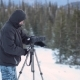 Photographer in Winer Mountain - VideoHive Item for Sale