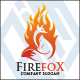 Fire Fox Logo Template - GraphicRiver Item for Sale