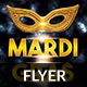Mardi Grass Flyer - GraphicRiver Item for Sale