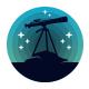 Astronomy Night Logo Template