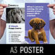 Puppy School Poster Template