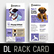 Puppy School Rack Card Template