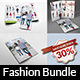 Fashion Catalog Brochure Bundle Template