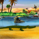 Little Crocodile Runs - VideoHive Item for Sale