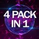 Plexus Background VJ Pack - VideoHive Item for Sale