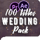 Wedding Titles Pack - 100 Titles & Special Effects - VideoHive Item for Sale