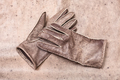 stitched gloves on original natural leather - PhotoDune Item for Sale