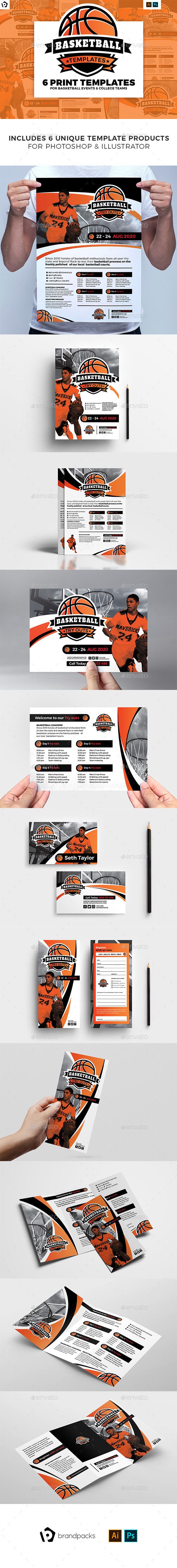 Basketball Templates Bundle - Sports Events