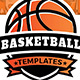 Basketball Templates Bundle - GraphicRiver Item for Sale