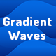 Gradient Waves Background