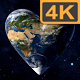 Heart Earth 4K (4 pack) - VideoHive Item for Sale