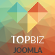 TopBiz - Responsive Corporate Joomla Template With Page Builder