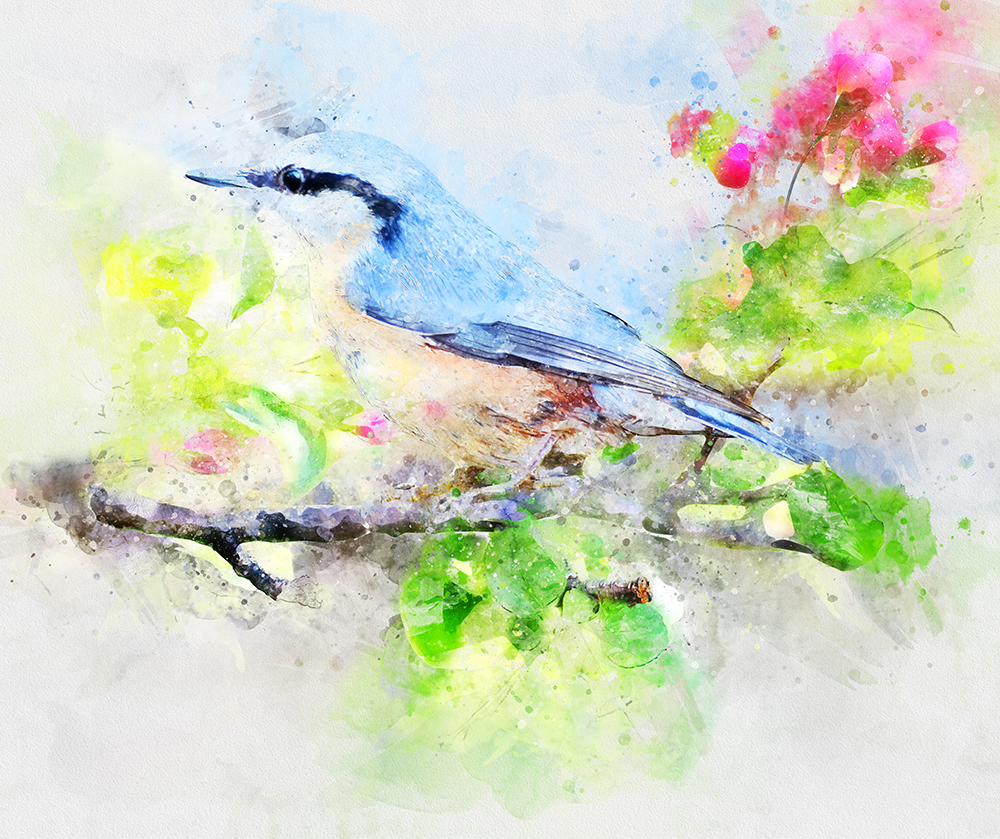Watercolor 2 Artist Photoshop Action by graycells-graphic | GraphicRiver