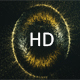 Golden Particle Loading Circle Background Loop - VideoHive Item for Sale