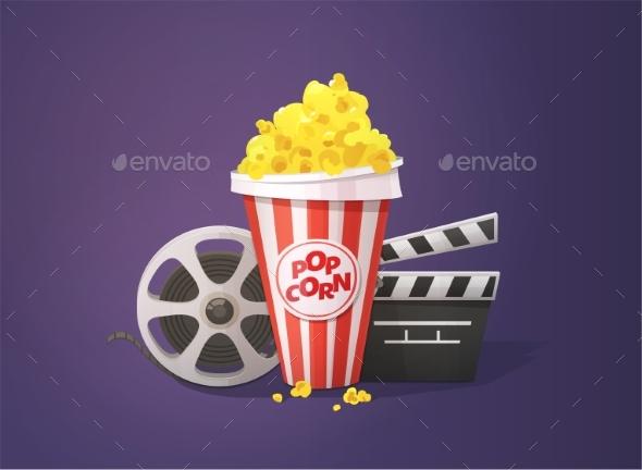 Movie Cinema Concept - Miscellaneous Vectors