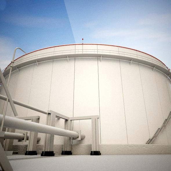 Oil Reservoir - 3DOcean Item for Sale