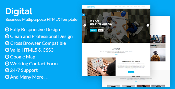 Digital - Business Multipurpose HTML5 Template