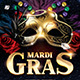 Mardi Gras Flyer Template - GraphicRiver Item for Sale