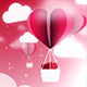 Valentine Ballon Background - VideoHive Item for Sale