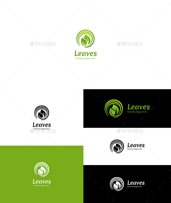 Leaves Logo - Nature Logo Templates
