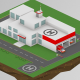 Isometric Fire Station - VideoHive Item for Sale