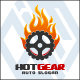 Hot Gear - Auto Fire Logo - GraphicRiver Item for Sale