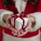 Santa Girl Holding Present - VideoHive Item for Sale