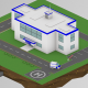 Isometric Police Station - VideoHive Item for Sale