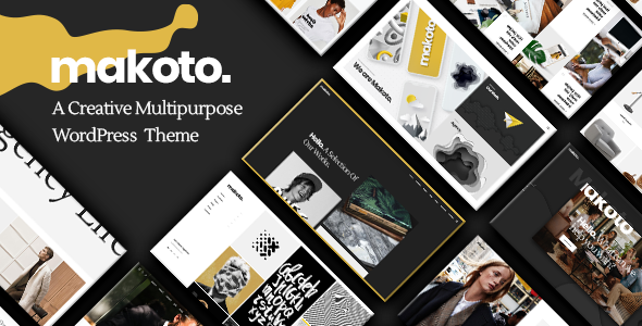Makoto - A Creative Multipurpose WordPress Theme