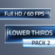 Lower Thirds Pack 2 - VideoHive Item for Sale