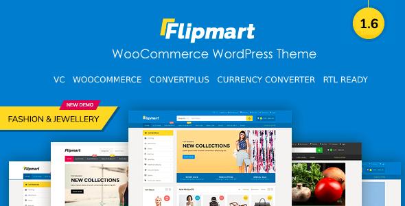Flipmart - Responsive Ecommerce WordPress - WooCommerce eCommerce