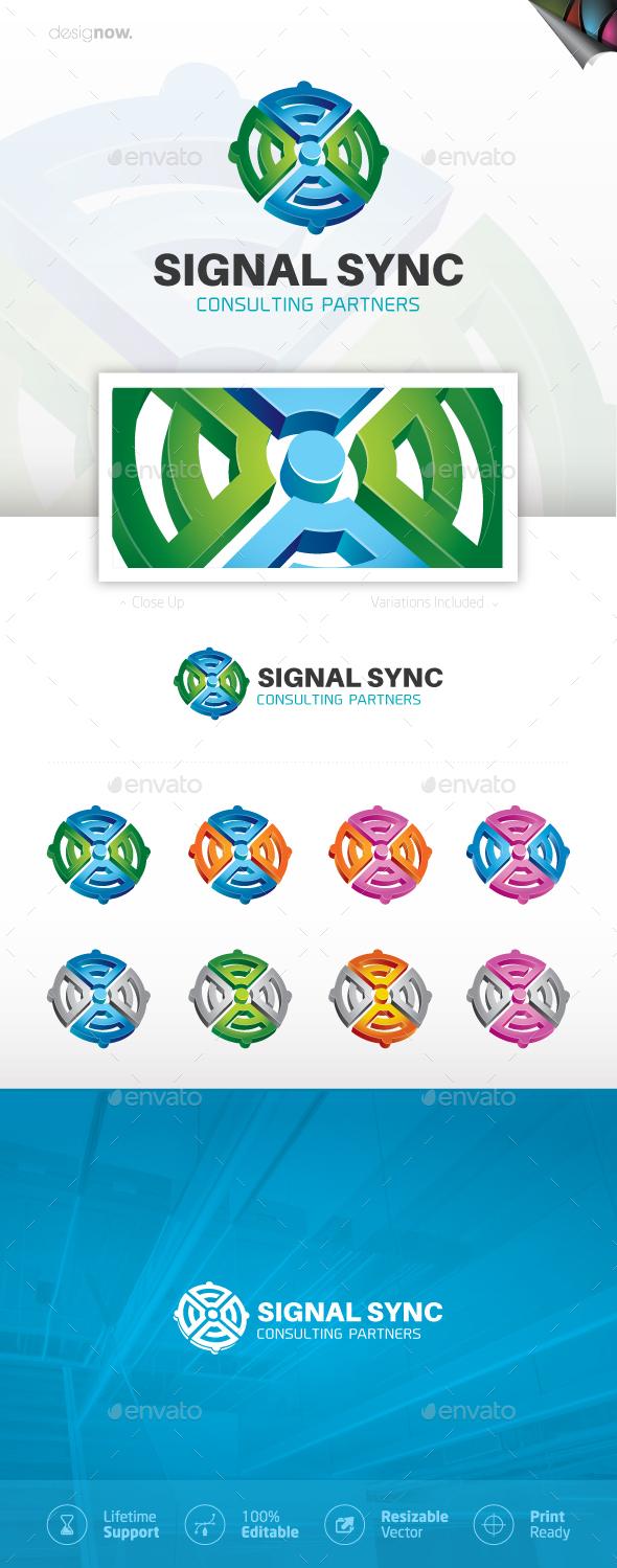 Circle Labyrinth Logo - 3d Abstract