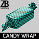 Candy Wrap 001 - 3DOcean Item for Sale