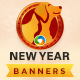 Chinese New Year Banner Set