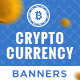 Cryptocurrency Banner Set - GraphicRiver Item for Sale
