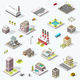 Isometric City Map Collection - GraphicRiver Item for Sale
