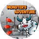 Monster's Adventure -Eclipse and Android Studio -ADMOB -Share and Review Buttons