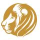 Circle Lion Head Logo