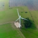 Aerial Drone View on Wind Turbine - VideoHive Item for Sale