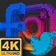 Social Media Pixels Lower Thirds (4K) - VideoHive Item for Sale