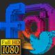 Social Media Pixels Lower Thirds (Full HD) - VideoHive Item for Sale