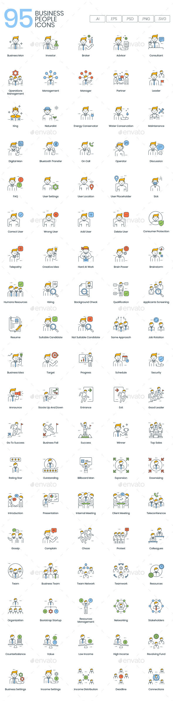 Business People Icons - Business Icons