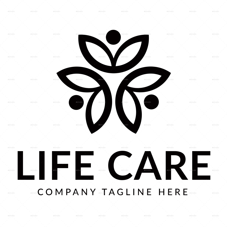 life care logo by yessynovita graphicriver. Black Bedroom Furniture Sets. Home Design Ideas