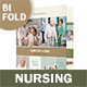Nursing Home Bifold / Halffold Brochure 2