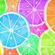 Cartoon Lemon & Lime Background - VideoHive Item for Sale