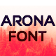 Arona Font - GraphicRiver Item for Sale