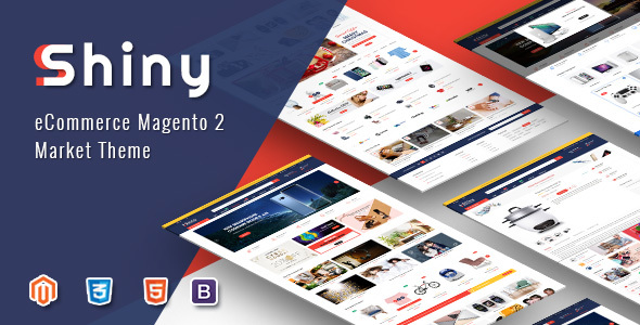 Shiny - Responsive Magento 2 Fashion Store Theme - Shopping Magento