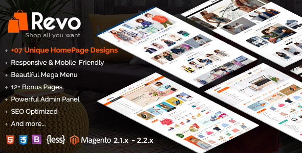 Revo - Responsive Magento 2 Shopping Theme - Shopping Magento