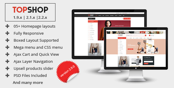 Topshop - Premium Multipurpose Magento 2 and 1.9 Theme - Shopping Magento