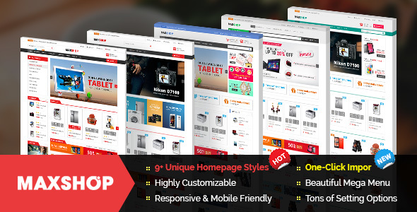 Maxshop - Premium Magento 2 and 1.9 Store Theme - Shopping Magento
